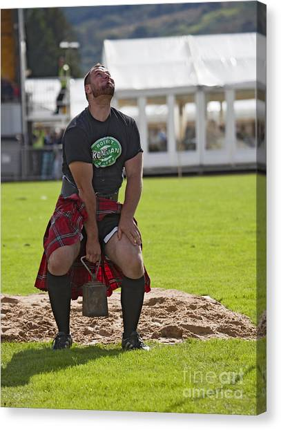 Gregor Edmunds  Highland Games Canvas Print