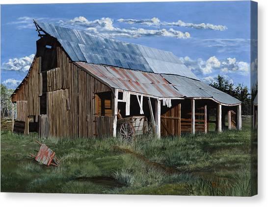 Greive's Barn Canvas Print