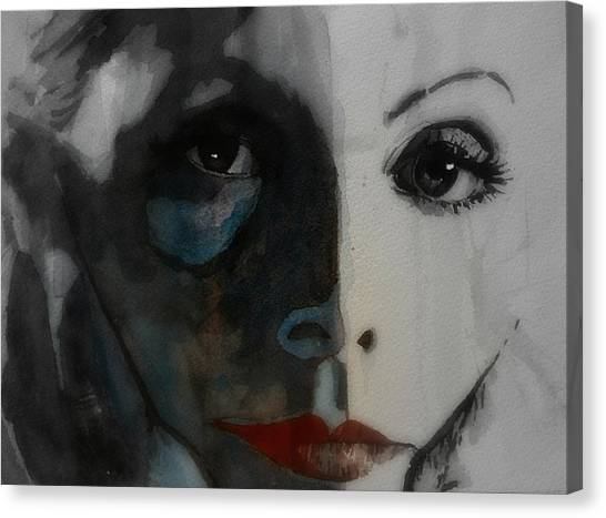 Swedish Canvas Print - Greta Garbo by Paul Lovering