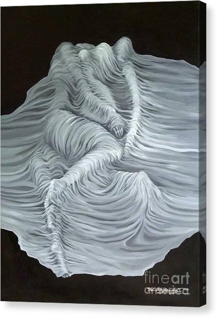 Greyish Revelation Canvas Print