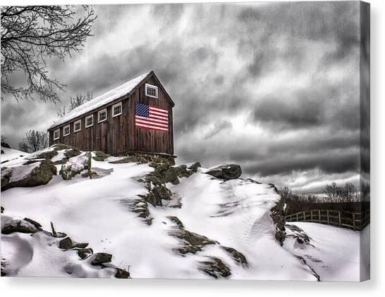 Greyledge Farm After The Storm Canvas Print