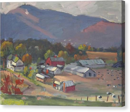 Greylock From The Ziemba Farm Canvas Print