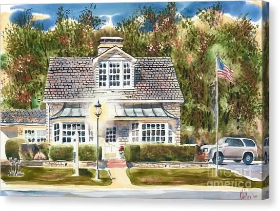 Greystone Inn II Canvas Print