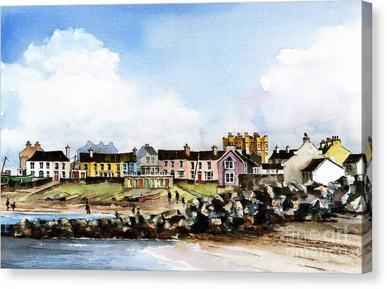 Greystones North Beach  Wicklow Canvas Print