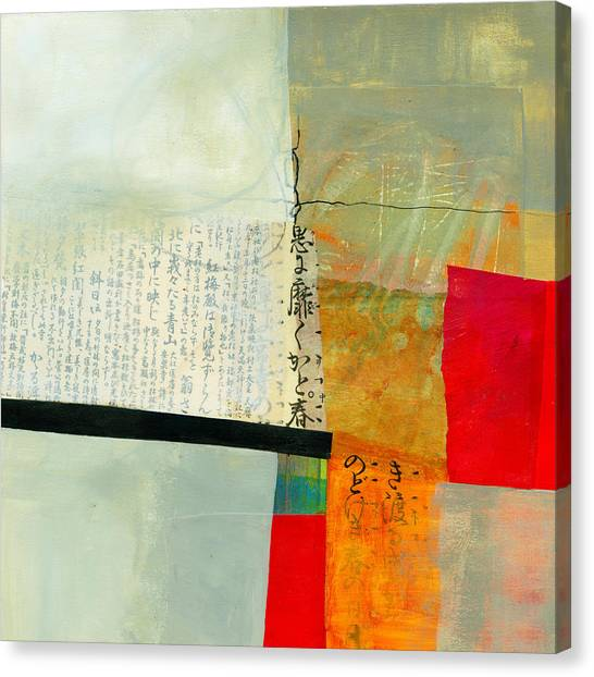 Grid Canvas Print - Grid 1 by Jane Davies
