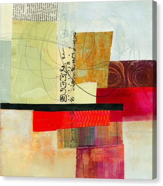Grid Canvas Print - Grid 2 by Jane Davies