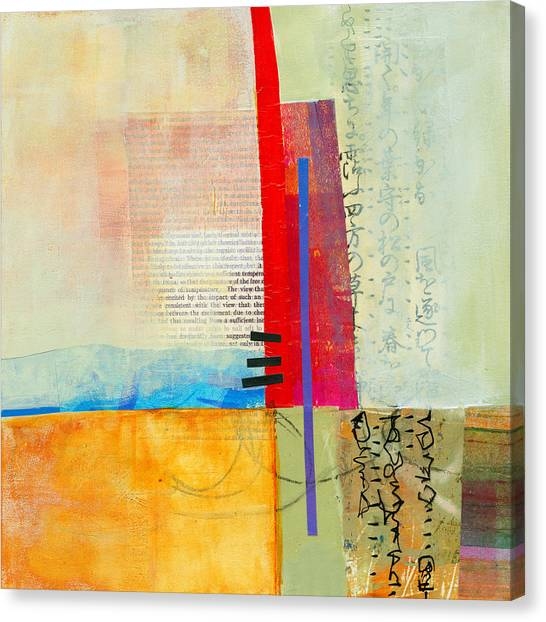 Abstract Canvas Print - Grid 3 by Jane Davies