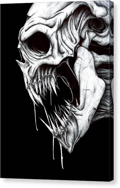 Grim Reaper Drawing By Anthony Mccracken