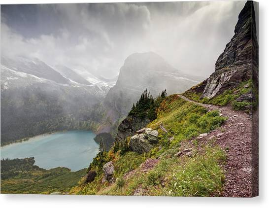 Grinnell Glacier Trail Canvas Print