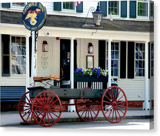 Griswold Inn And Tavern Canvas Print