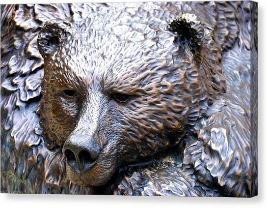Grizzly Bear 2 Canvas Print