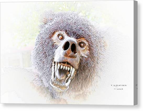 Grizzly Dream Canvas Print