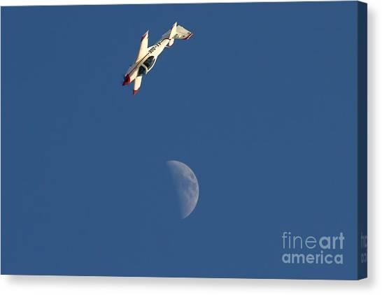 Prop Planes Canvas Print - Grob G-120a  by Nir Ben-Yosef