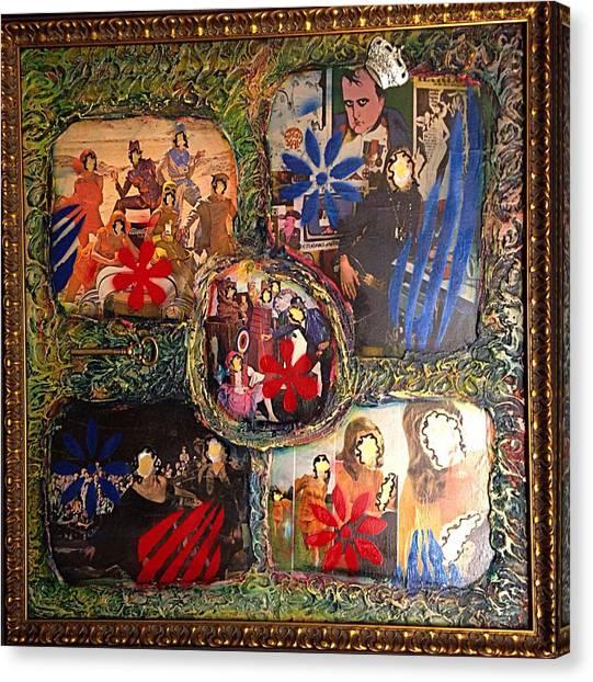 Alfredo Garcia Canvas Print - Groovy Celebrations By Alfredo Garcia by Alfredo Garcia