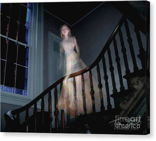 Grosvenor Ghost Canvas Print by Tom Straub
