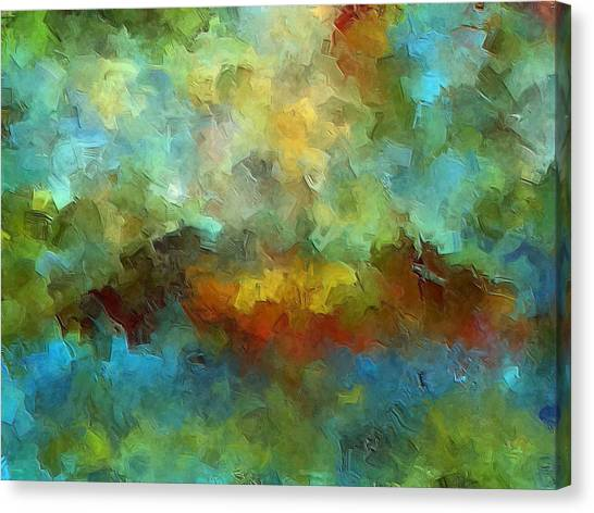 Expressionism Canvas Print - Grotto by Ely Arsha