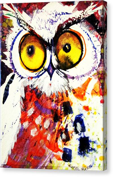 Groucho Owl Canvas Print