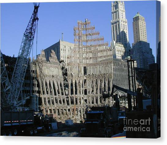 Ground Zero-2 Canvas Print