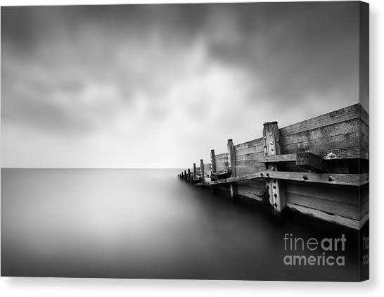 Groin Canvas Print - Calm by Rod McLean