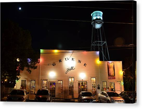 Gruene Hall Canvas Print