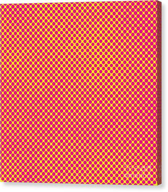 Decoration Canvas Print - Grunge Halftone Background. Halftone by Monika7