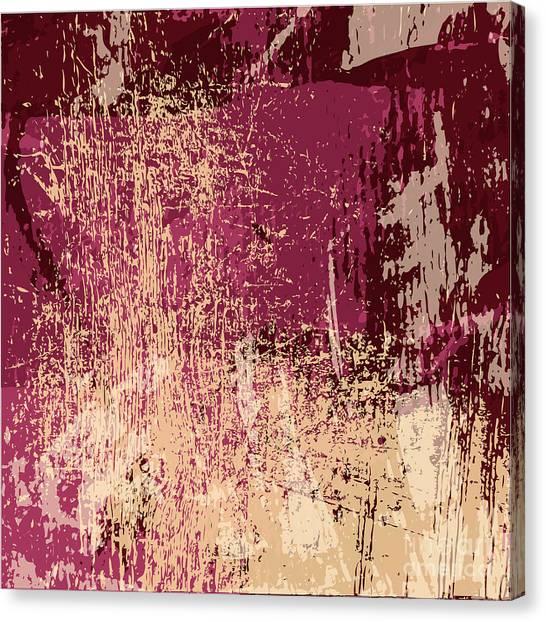 Decoration Canvas Print - Grunge Retro Vintage Paper Texture by Kaidash