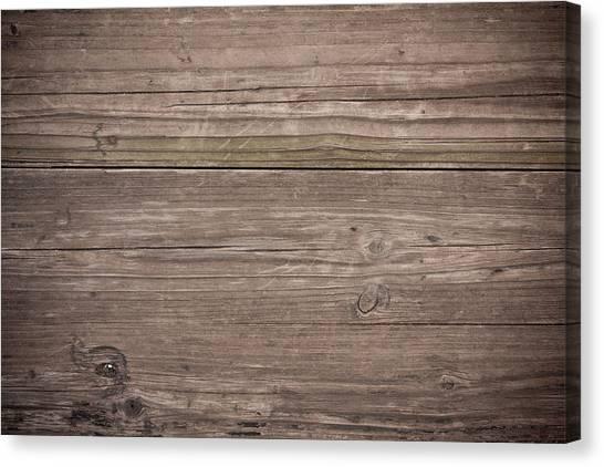 Grunge Wood Textured Background Canvas Print