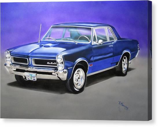 Gto 1965 Canvas Print