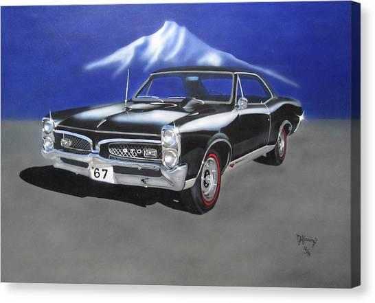 Gto 1967 Canvas Print