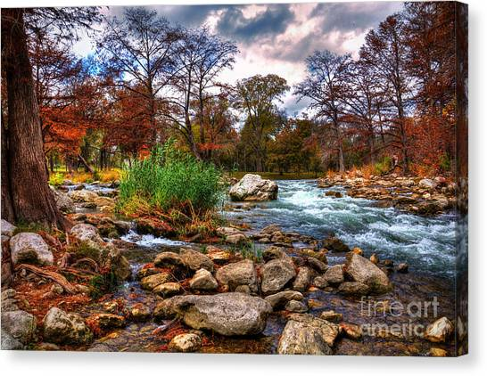 Guadalupe In The Fall Canvas Print