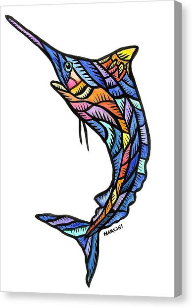 Guam Marlin 2009 Canvas Print by Marconi Calindas