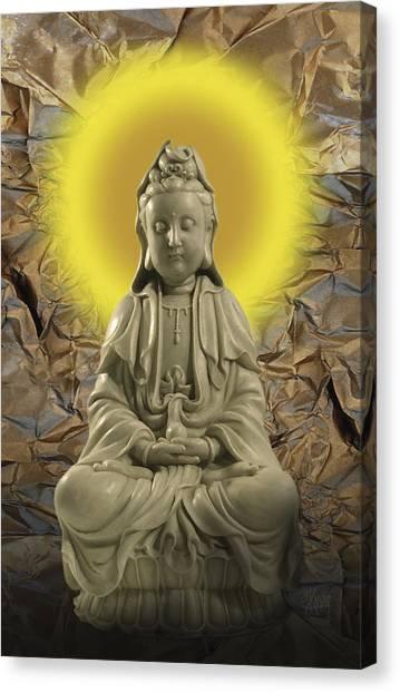 Guan Yin Canvas Print