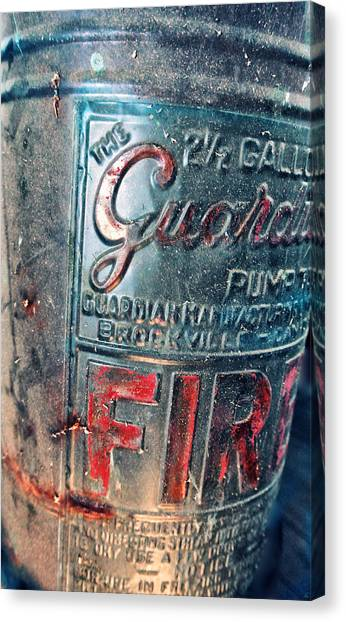Drywall Canvas Print - Guardian Fire by Starlux  Productions