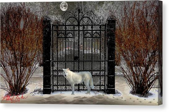 Canvas Print - Guardian Of The Gate by Michael Rucker