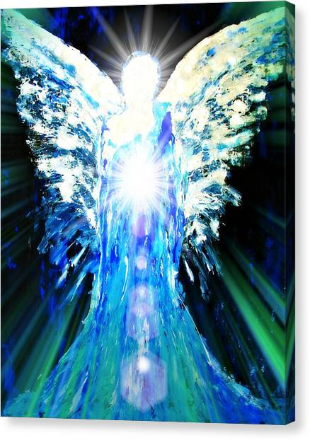 Guardian Of The Light Canvas Print