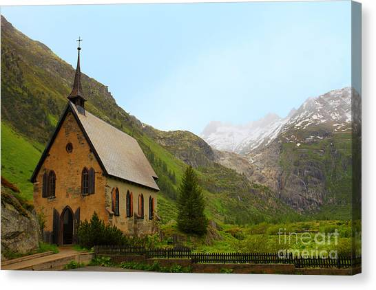Guardian Of The Pass Canvas Print