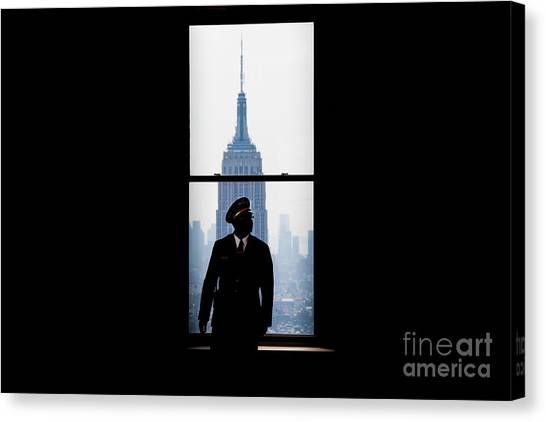 Window Canvas Print - Guarding The Empire by Az Jackson