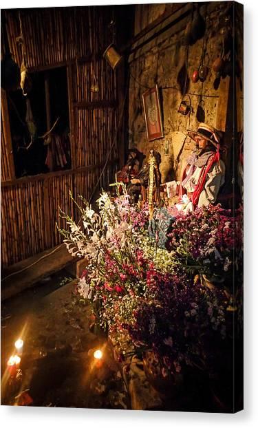 Guatemala Navidad Canvas Print