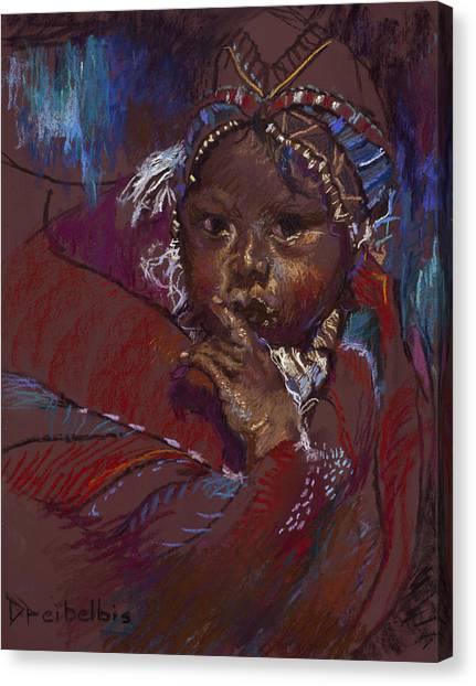 Guatemalan Child Canvas Print