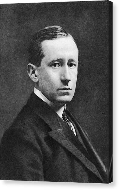 Guglielmo Marconi Canvas Print by Miriam And Ira D. Wallach Division Of Art, Prints And Photographs/new York Public Library