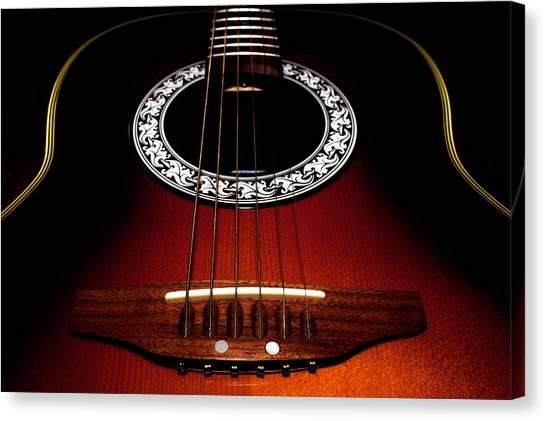 Guitar Abstract Canvas Print