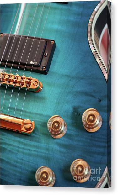 Guitar Blues Canvas Print