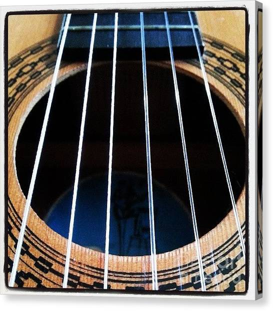 Celebrities Canvas Print - #guitar #music #musician by Abbie Shores