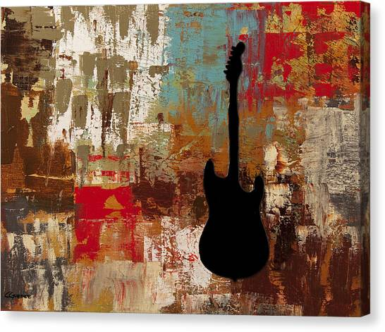 Guitar Solo Canvas Print