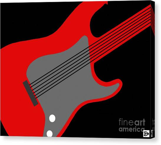 Guitarpop I Canvas Print