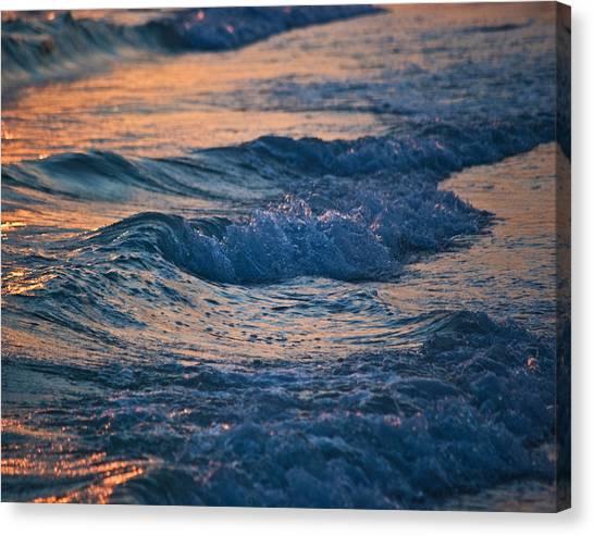 Gulf Coast Surf Wat 153 Canvas Print