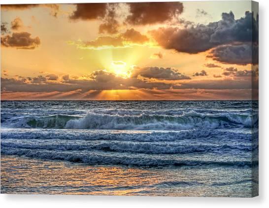 Gulf Waters Canvas Print