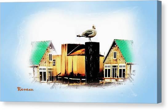 Gull House Canvas Print