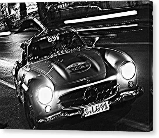 Gullwing In Rome Canvas Print