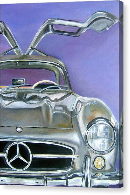 Gullwing Canvas Print